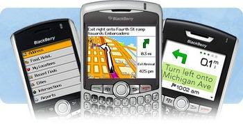 Illustration for article titled Garmin Offers $100 Lifetime GPS Subscription to BlackBerry Owners