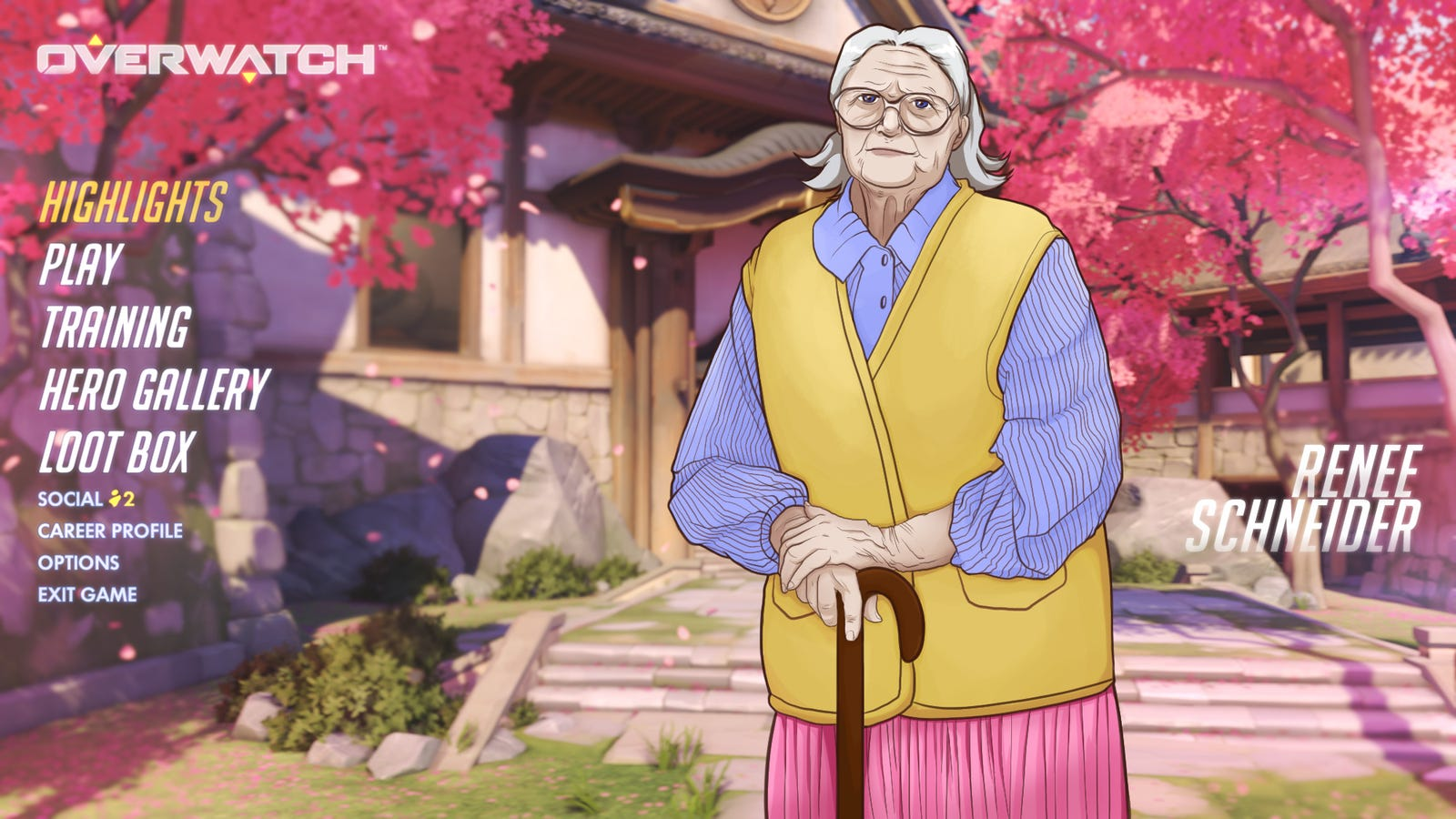 Hardcore Gamers Only: 'Overwatch' Is Increasing Its Difficulty By Adding A Senior-Citizen Character That's A Financial Drain And Emotional Burden On Their Whole Team