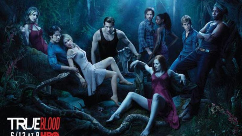 Illustration for article titled What can this poster for True Blood Season 3 tell us, besides the fact that it's a slow news day?