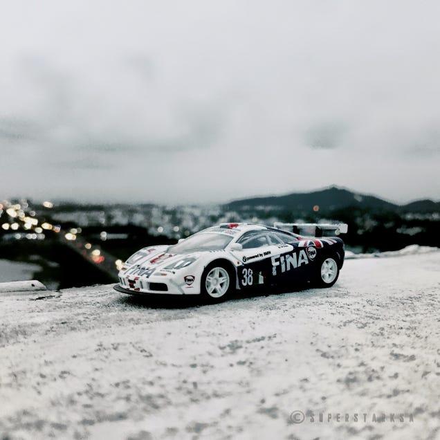 1/43 Highspeed casting of the 1996 McLaren F1-GTR
