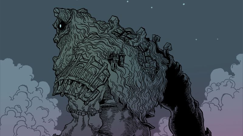 Illustration for article titled In Shadow Of The Colossus, you bond with giants before you slay them