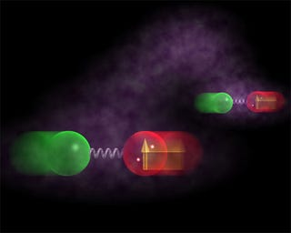 Illustration for article titled Scientists Measure Communication Between Quantum Entangled Atoms