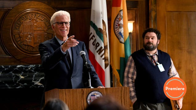 Ted Danson and the rest of Mr. Mayor's ace cast can't save its weak humor and poorly timed arrival