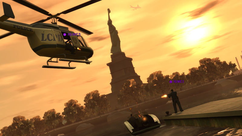 Illustration for article titled Ten Years Later, GTA IV's Multiplayer Is Still Fun (And Active)