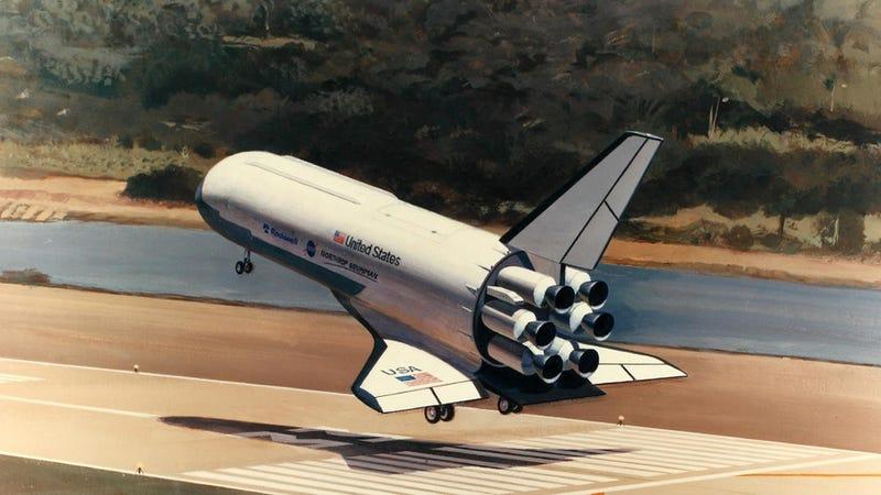 Illustration for article titled Así evolucionó el diseño del transbordador espacial de la NASA