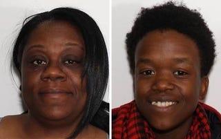 Shanta Myers, 36, and Brandi Mells (Troy, N.Y., Police Department)