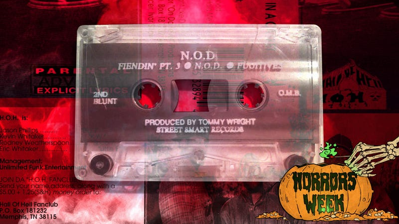 These Memphis rap tapes aren't actually haunted, but they are awesome