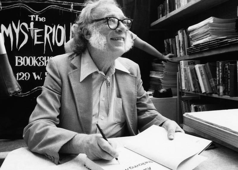 Publican un ensayo inédito de Isaac Asimov sobre la creatividad