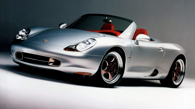 This is the original 1993 Porsche Boxster concept. Mm. Have a good Boxster weekend y'all.