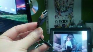 Illustration for article titled Hide a Flash Drive Inside an Old USB Cable for Super Secret Storage