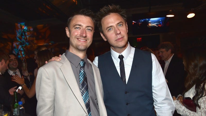 Sean Gunn and James Gunn (Photo by: Getty Images)