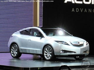 Illustration for article titled Acura ZDX Concept: Sneaky First Look!