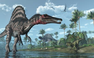 Illustration for article titled 10 mitos sobre los dinosaurios que son completamente falsos