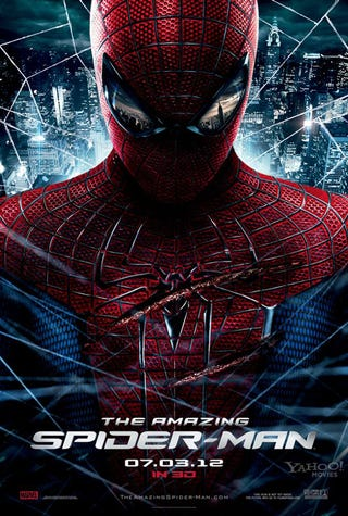 Illustration for article titled Two New Posters for the Amazing Spider-Man