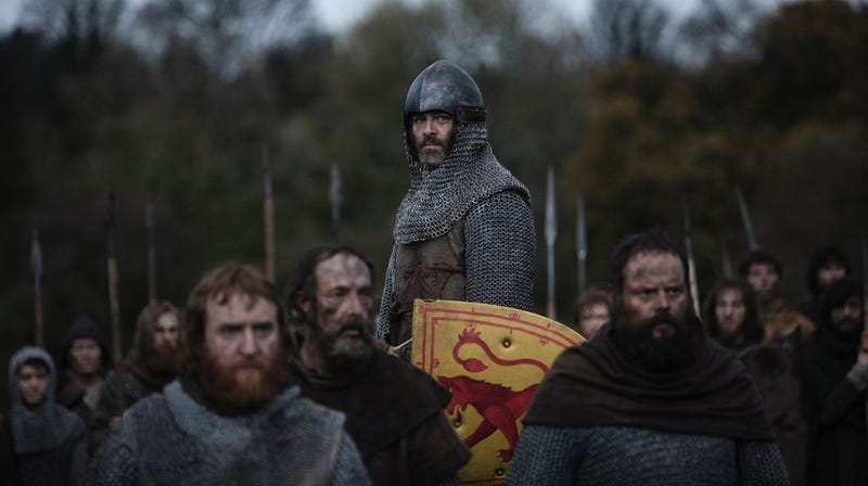 Chris Pine plays a Scottish Outlaw King in an epic without a