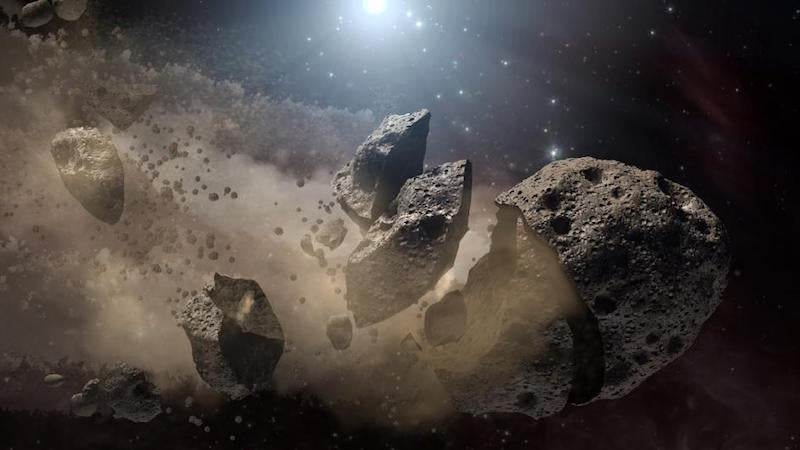NASA spacecraft on way to asteroid