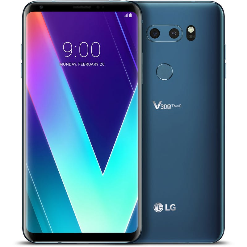 Illustration for article titled I'm kinda tempted by this LG V30S deal for $600