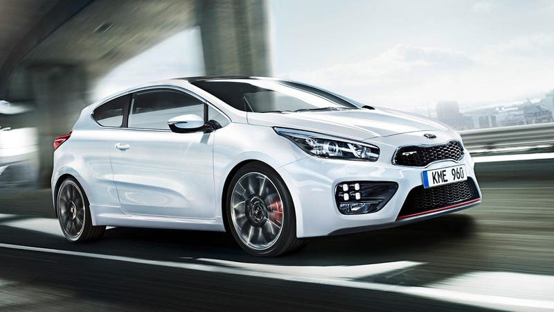 Illustration for article titled Kia cee'd GT: Would Americans Buy This Sporty C Apostrophe D?