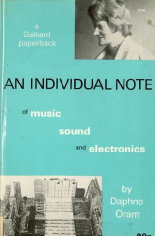 Illustration for article titled On June 15 Join in to Discuss Daphne Oram's 1971 Book 'An Individual Note'