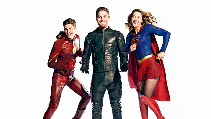 Illustration for article titled First Look at the Massive DC/CW Crossover Also Contains All Known Joy in the World
