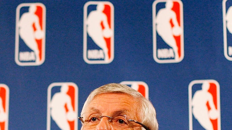 "Illustration for article titled David Stern On The NBA: ""Everything Is Absolutely And Unbelievably Good"""