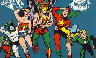 Illustration for article titled A History of DC Crossovers: The Golden Age