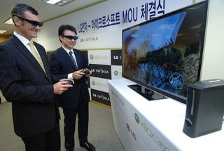 Illustration for article titled South Korea Gets 3D Xbox 360 Gaming