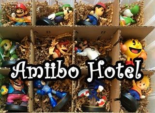 Illustration for article titled Amiibo Hotel: A Do-It-Yourself Amiibo Storage Solution
