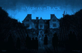 Illustration for article titled The Woman in Black Poster