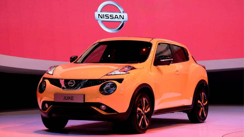 Illustration for article titled 2015 Nissan Juke Stays Funky, With A Dash Of 370Z Style