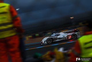 Illustration for article titled Nighttime Le Mans...