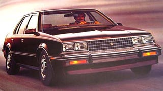 Illustration for article titled Short-Lived GM Car of the Day: Cadillac Cimarron
