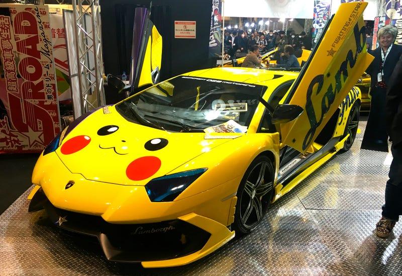 Pikachu Car Price