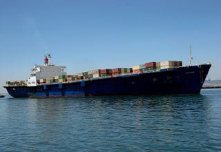 Illustration for article titled American Container Ship Disappears in Hurricane Joaquin, 33 Missing