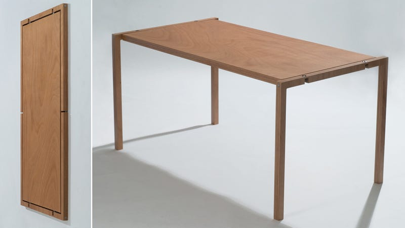 This Impossibly Thin Table Stores Wherever You Ve Got An