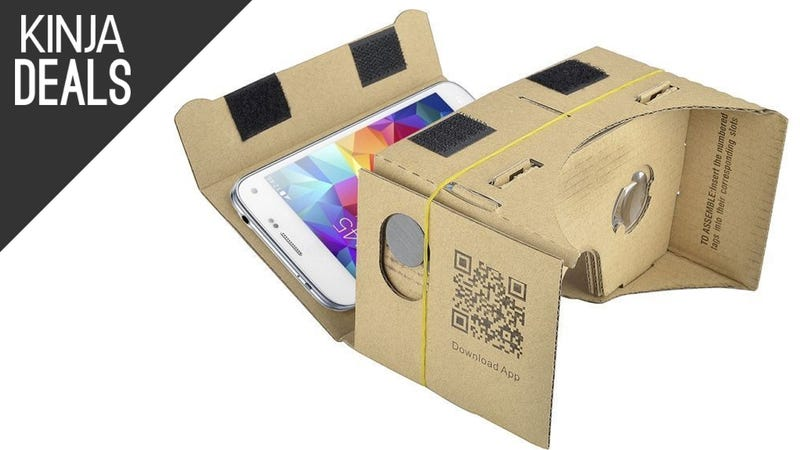 Illustration for article titled Give Virtual Reality a Try With This $5 Google Cardboard Kit