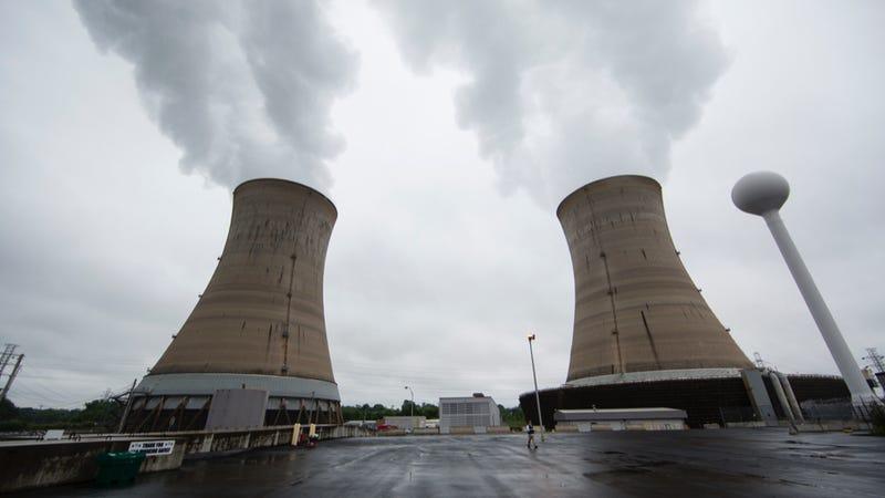 A nuclear plant. Photo credit: AP