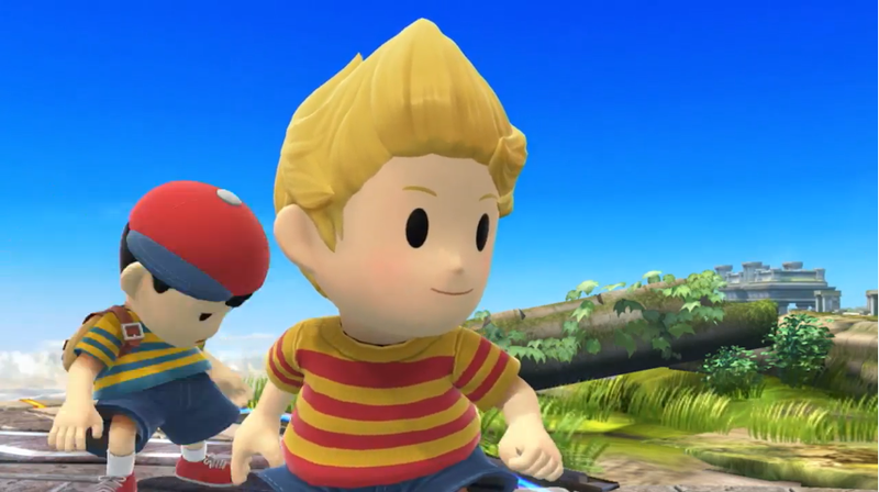 Illustration for article titled Lucas Is Coming Back To Smash Bros. In June