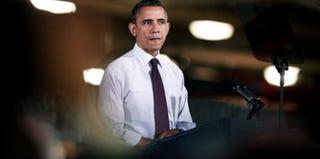 President Obama (Bill Pugliano/Getty Images News)