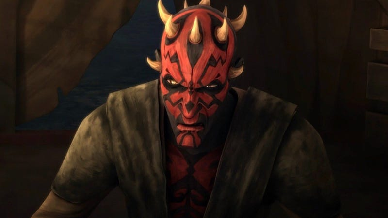 Darth Maul on The Clone Wars.