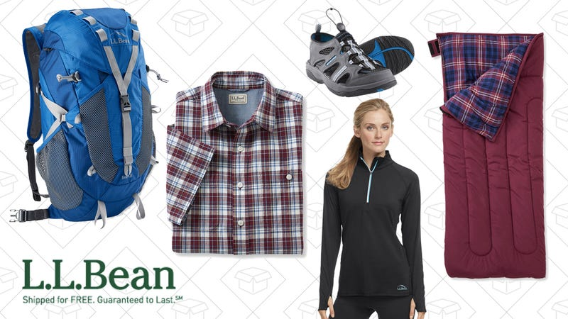 20% off clearance at L.L.Bean with the code SALE20