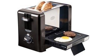 Illustration for article titled Toaster Griddle Is the Perfect Appliance for Lonely Breakfasts
