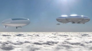 Illustration for article titled NASA: Let's Explore Venus in Solar Zeppelins and Build Cloud City There