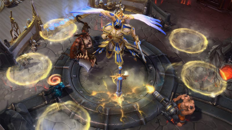 Heroes Of The Storms New Diablo Map Is Very Chaotic In A Good Way