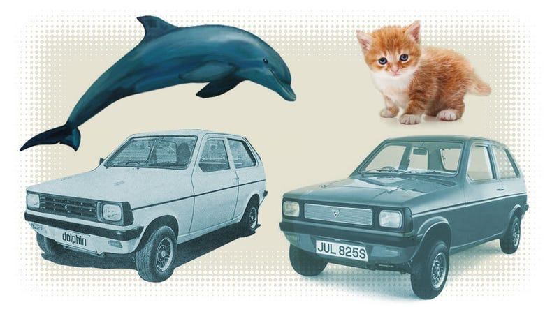 Illustration for article titled What One Car Has The Most Dramatic Range Of Names?