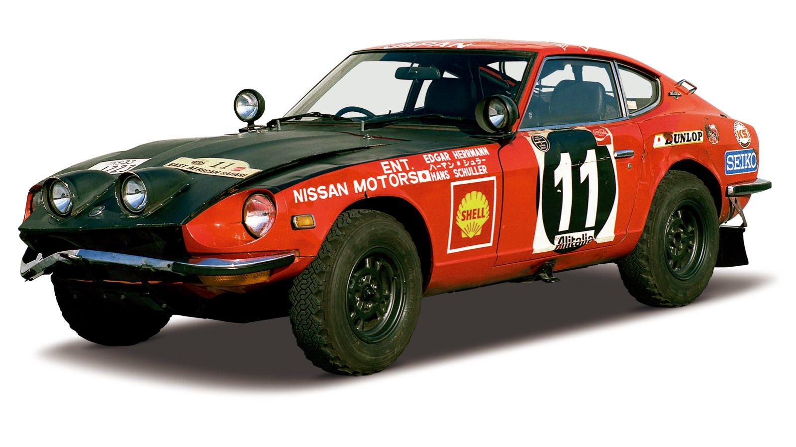 Nissan Volunteers Will Restore This Badass 240z Rally Car