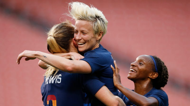 Illustration for article titled Megan Rapinoe Is Still Pulling All The Right Strings