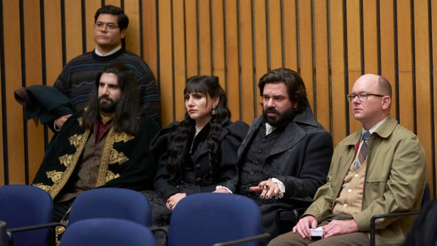 The vampires take the bus in a fast-paced yet dull What We Do In The Shadows
