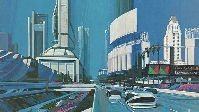 What futurists in 1988 imagined Los Angeles would be like