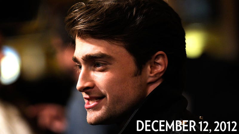 Illustration for article titled Two-Years-Sober Daniel Radcliffe Pounds Jaeger, Gets Tossed From Bar